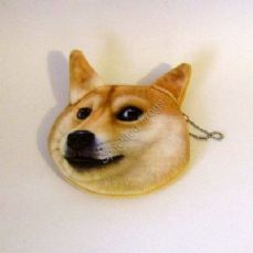 6. Cut Dog Face Purse